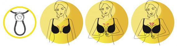 ein dekollet nach belieben mit dem wonderbra cleavage. Black Bedroom Furniture Sets. Home Design Ideas