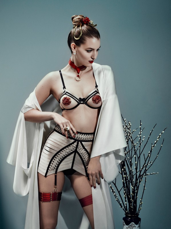 Luxury-bondage-lingerie-asobi-open-bra-and-waspie-598x800